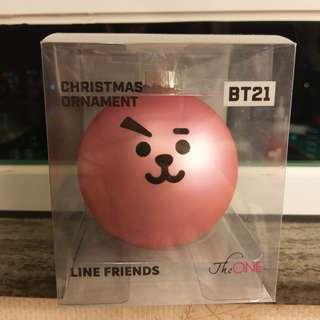 BT21 Cooky聖誕掛飾(not for sale)