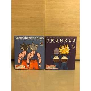 [SALE] Demoniacal Fit Ultra Instinct Goku / Super Saiyan Trunks Hairsculpt Hair piece Set