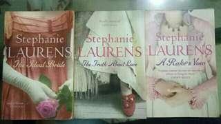 (Preloved) Stephanie Laurens Books