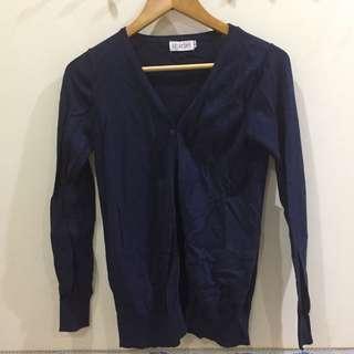 Scarlet Cardigan Navy Blue Size M #xmas25