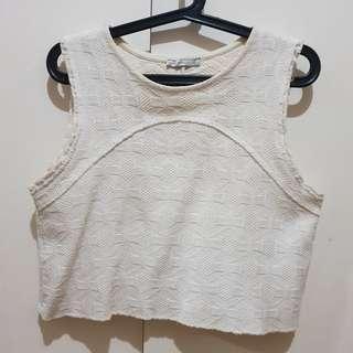Zara sleeveless top Medium