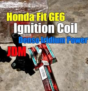 Honda Fit GE6 Replacement of Ignition coil  + JDM Denso IK20