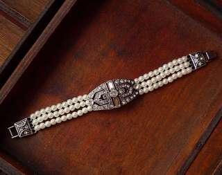 復古珍珠手鍊