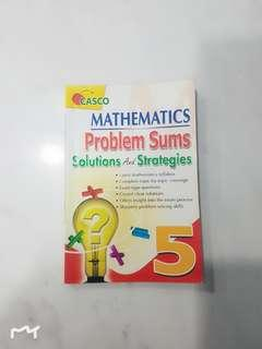 P5 Mathematics problem sums solution and strategies