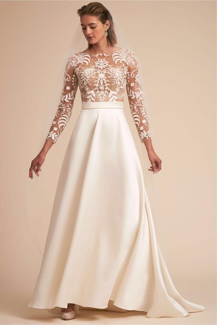 300 Off Elegant And Beautiful Wedding Dress For Sale Women S Fashion Clothes Dresses Skirts On Carousell,Wedding Dress For Second Wedding Older Bride