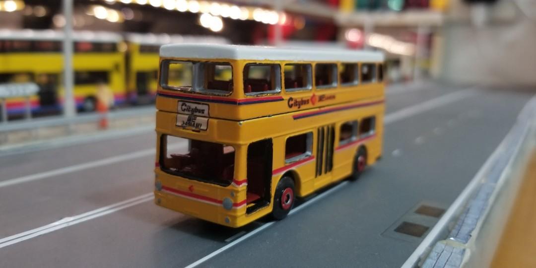 (二次創作) Matchbox Citybus DMS Fleetline