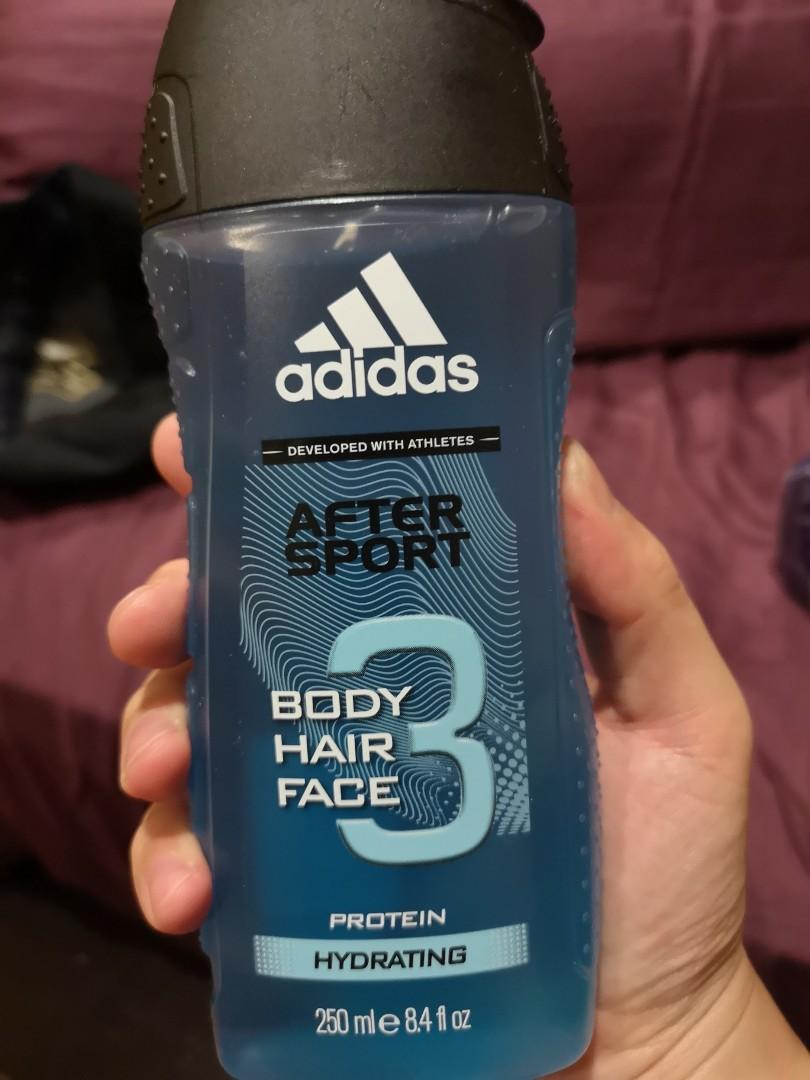 arbusto Persistente Descarga  Adidas After Sport 3-in-1 Shower Gel, Health & Beauty, Bath & Body on  Carousell