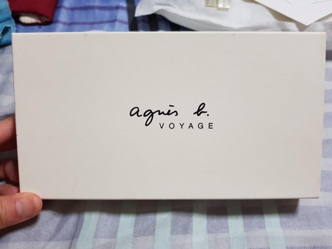 473b6896cc98 Agnes B Voyage Black Leather Wallet, Luxury, Bags & Wallets, Wallets ...