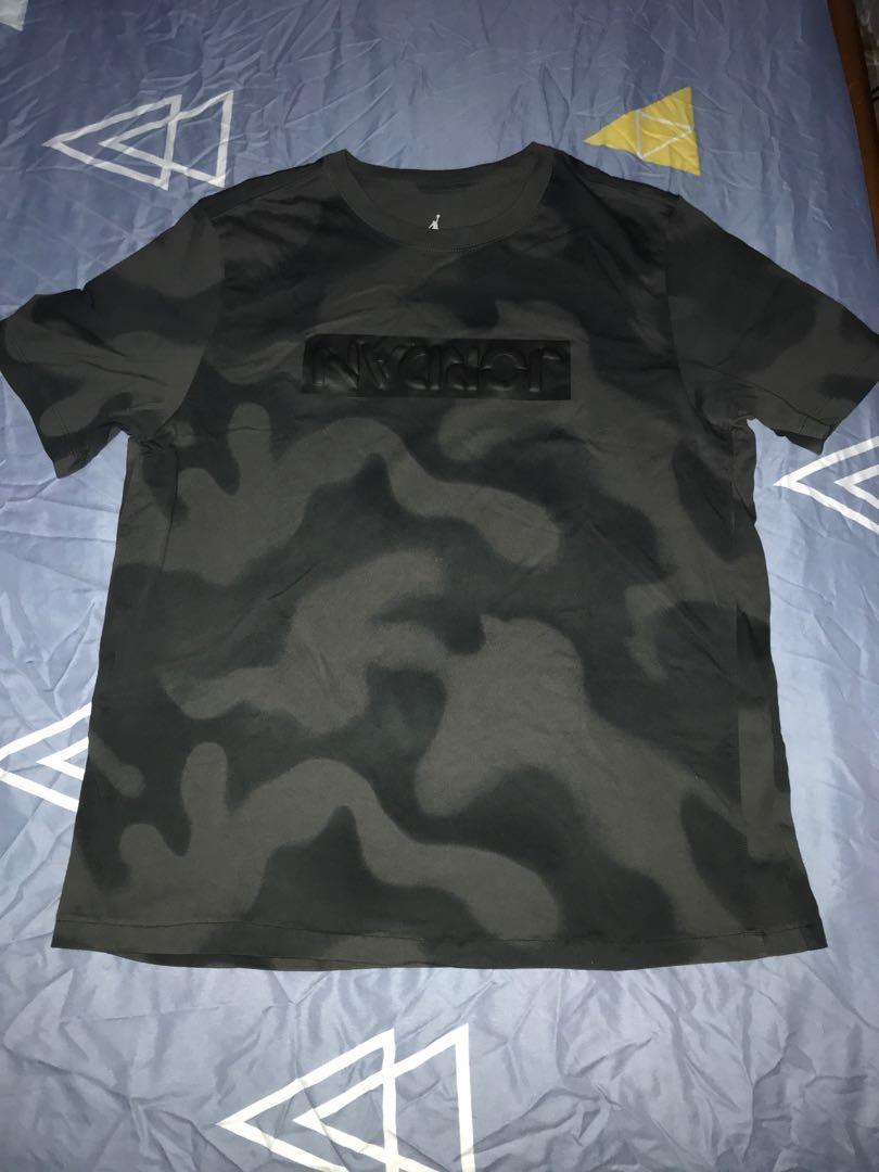 4a6021c6b9bc Air Jordan Black Camo T-shirt