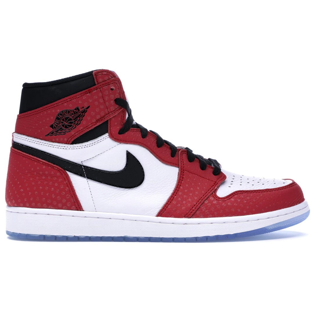 Nike Air Jordan 1 Retro High OG Spider-Man Origin Story 555088-602 ... 4f8e82adf8