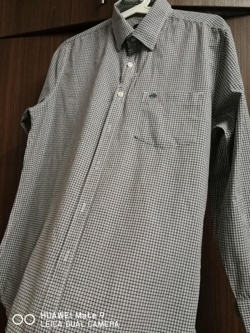 Austin Reed Long Sleeve Shirt Men S Fashion Clothes Tops On Carousell