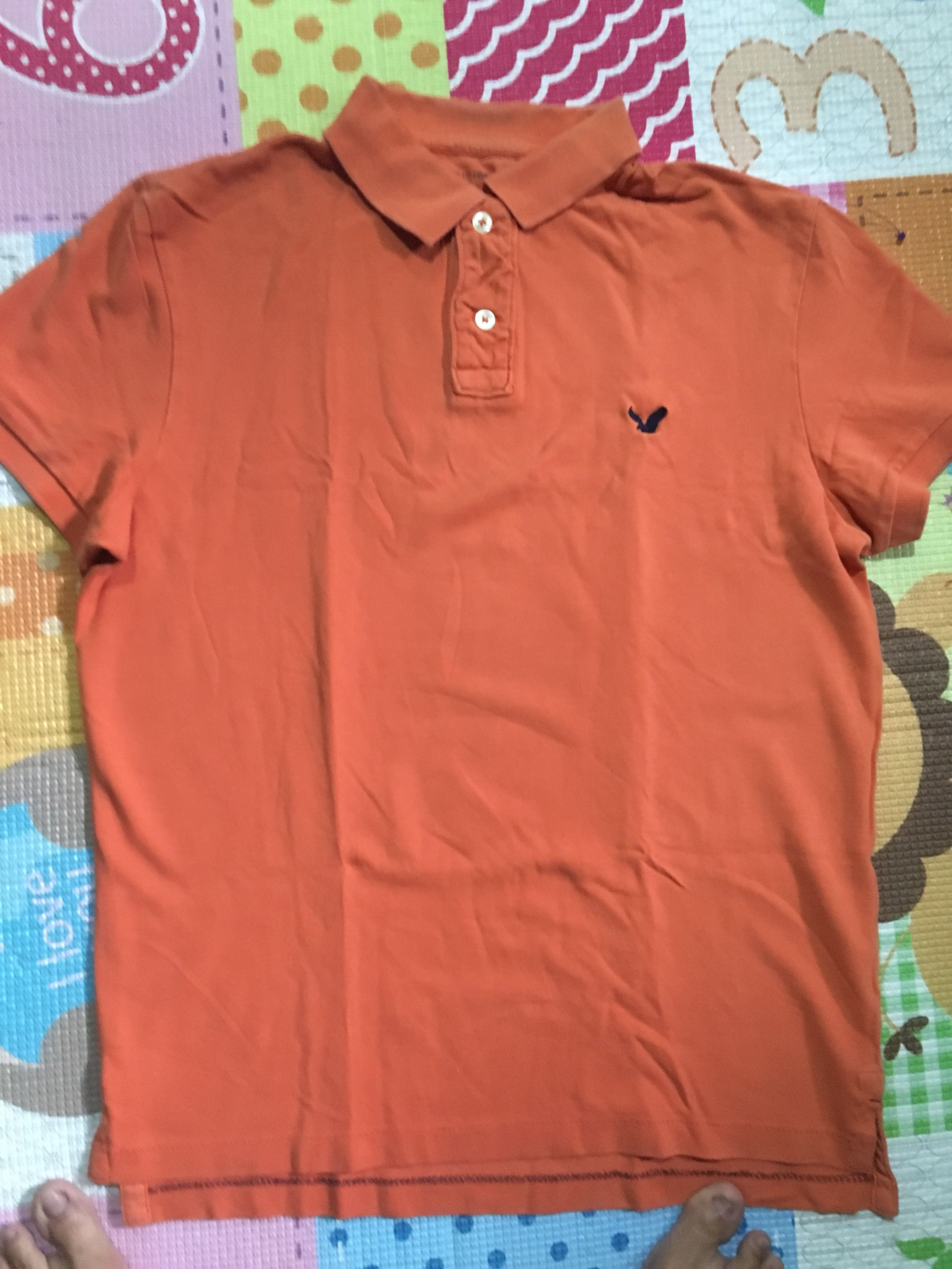 84946d22d86 Authentic American Eagle Outfitters Polo Shirt, Men's Fashion, Clothes,  Tops on Carousell