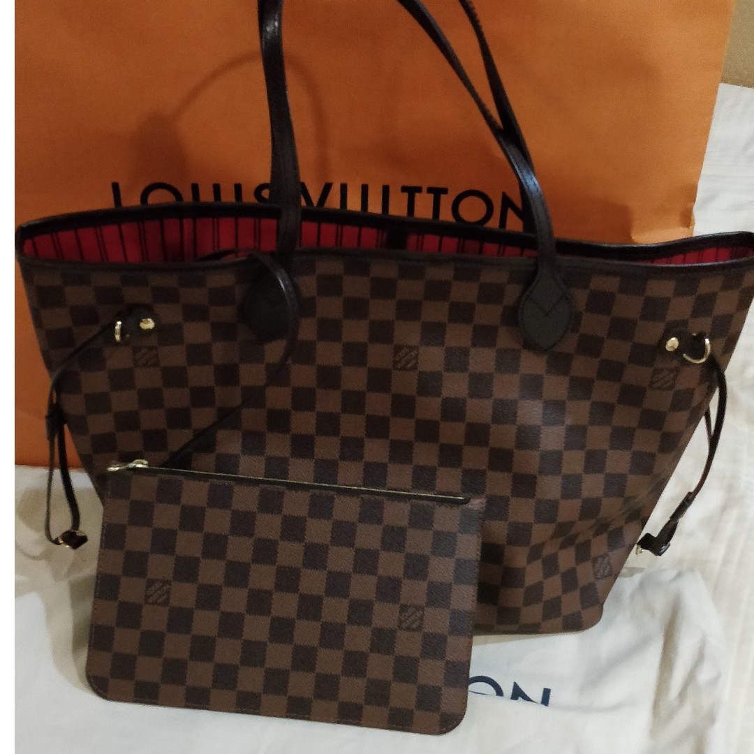 03a4531b705d AUTHENTIC LV Neverfull MM