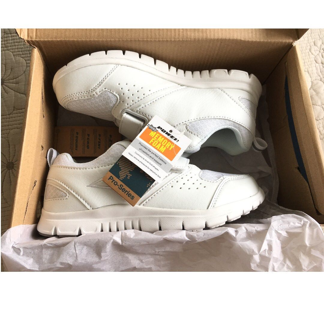 d674543c8a9e Bata White School Shoes (Power) (Brand New)