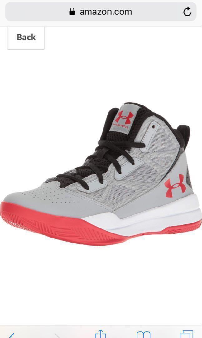 dc994228d36 BN Under Armour Kids Boys Basketball Shoes