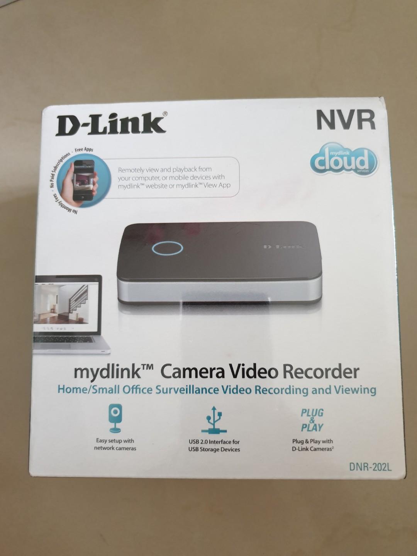 BNIB] D-Link DNR-202L Mydlink Cloud Camera Video Recorder