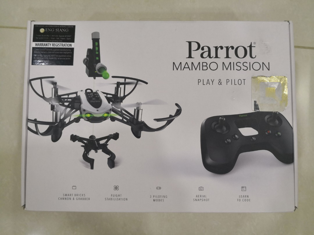 Brand New Parrot Mambo Mission