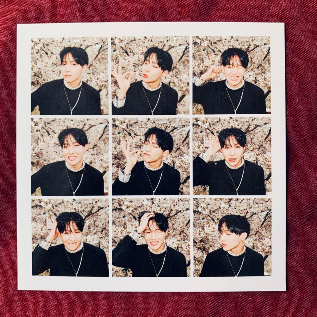 BTS HYYH pt 1 The Most Beautiful Moment in Life JHOPE PHOTOCARD PC
