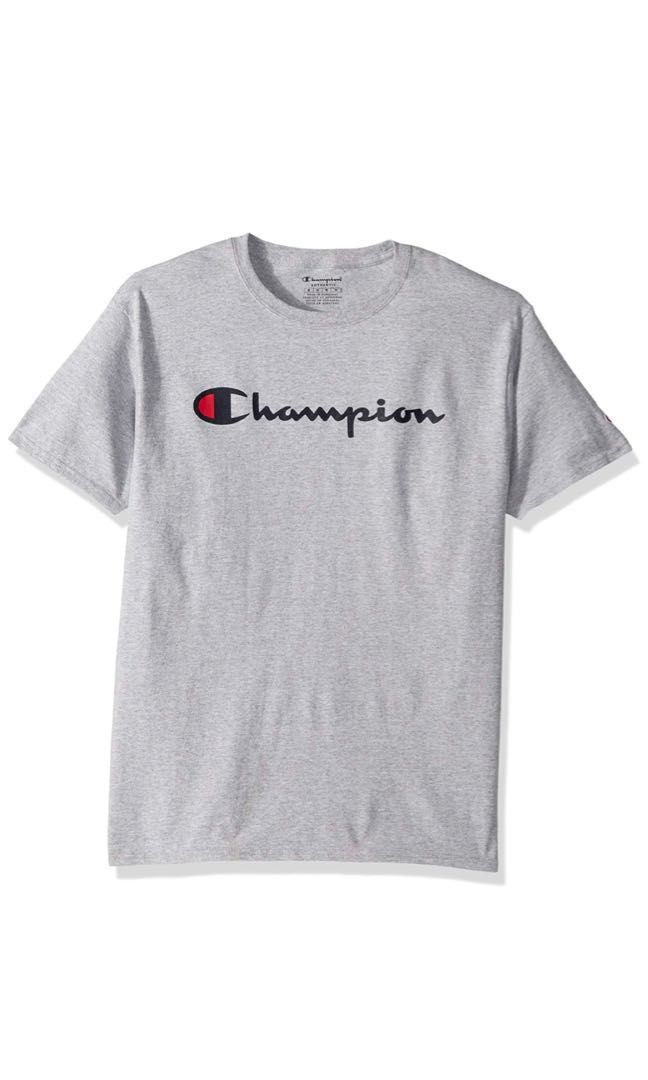 d5ac36d9 Champion classic T shirt, Men's Fashion, Clothes, Tops on Carousell