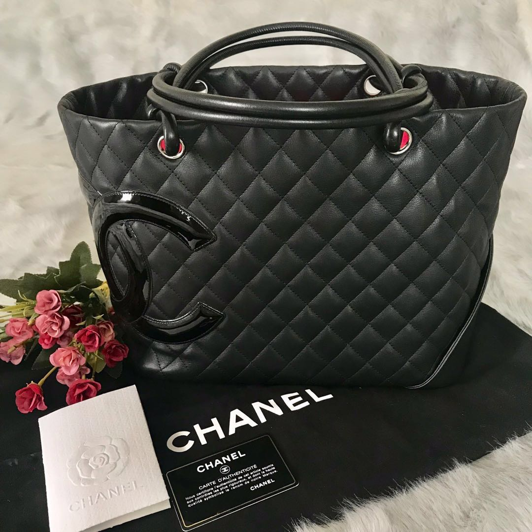 f96c655e818e CHANEL CAMBON TOTE BAG - 💯% AUTHENTIC (with local receipt)