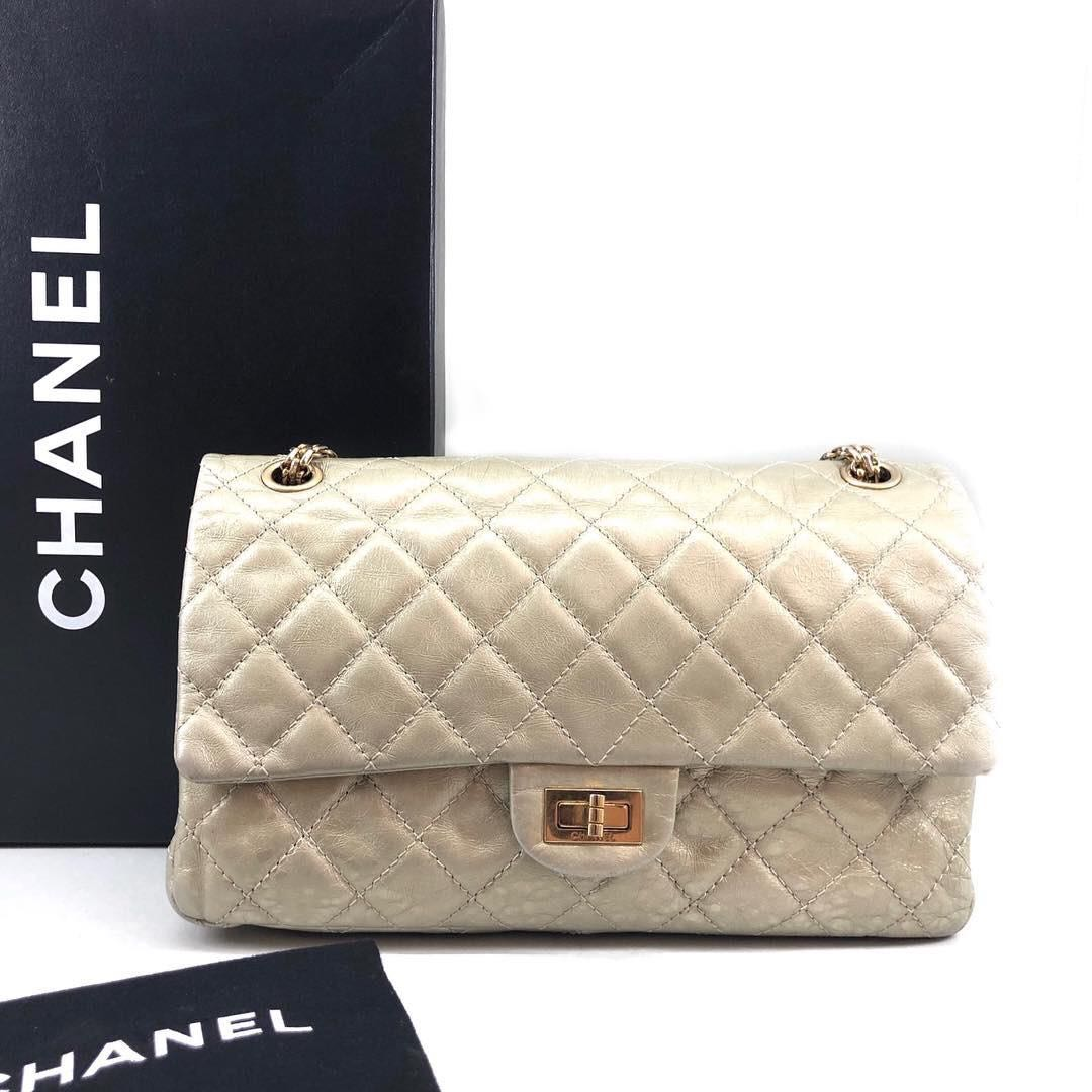 159d4cade53c32 Chanel Reissue 227, Luxury, Bags & Wallets, Handbags on Carousell