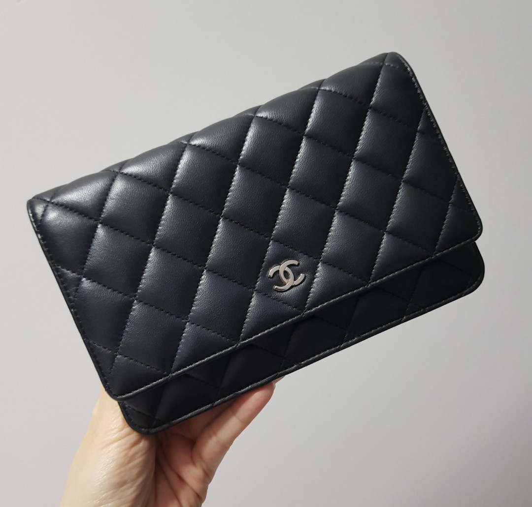 7075828f67e5 Chanel Classic Wallet On Chain (WOC)