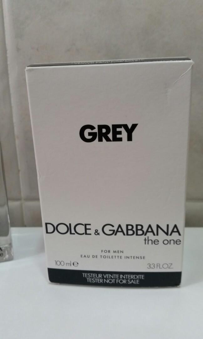 D & G the one Grey 男士淡香水 Eau de Toilette Intense