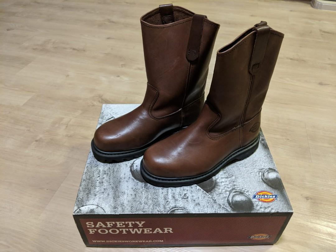 822a2cbad0a Dickies Safety Boots, Men's Fashion, Footwear, Boots on Carousell