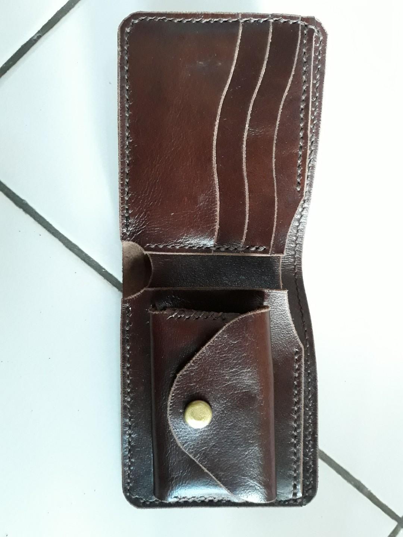 Dompet kulit sapi asli handmade