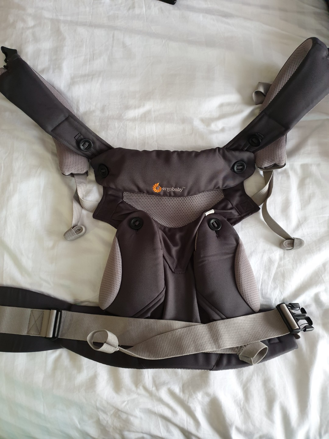 Ergo All Position 360 Cool Air Mesh Baby Carrier Grey