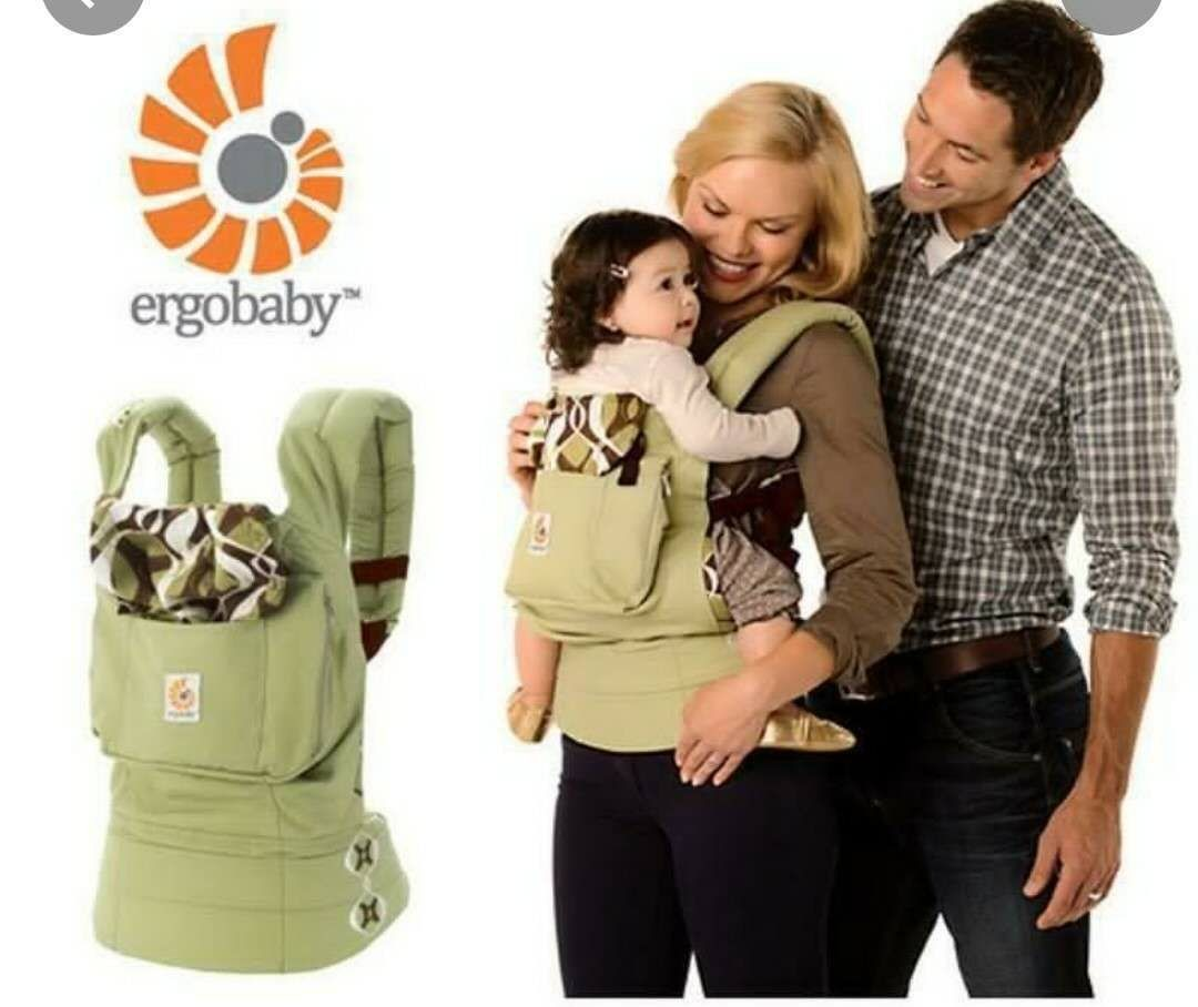 Ergo Baby Original Baby Carrier Bamboo Forests
