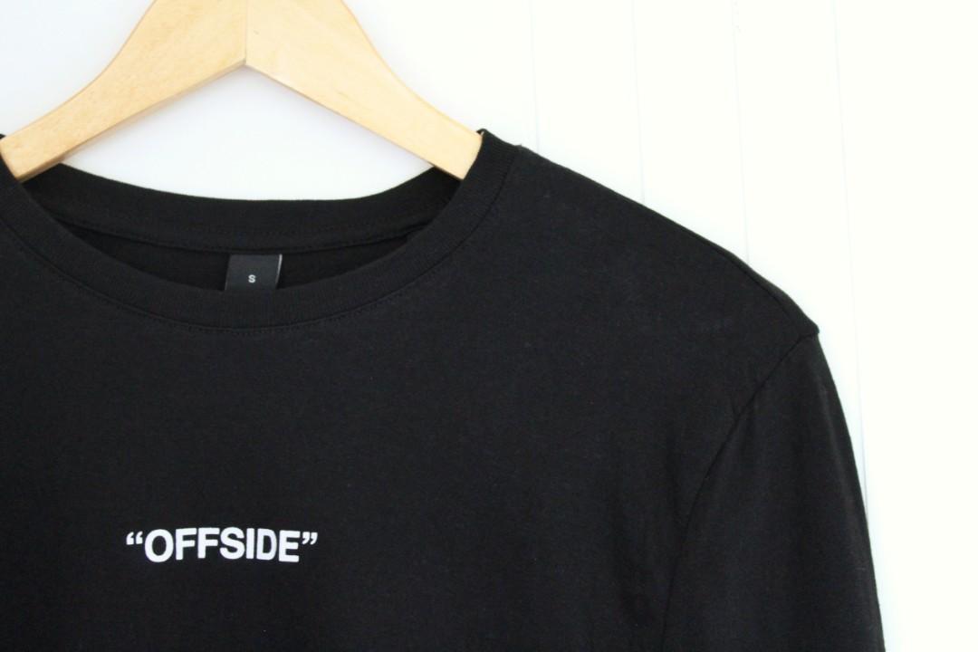 """FACTORIE • LONG SLEEVE TEE • BLACK W/ """"OFFSIDE"""""""