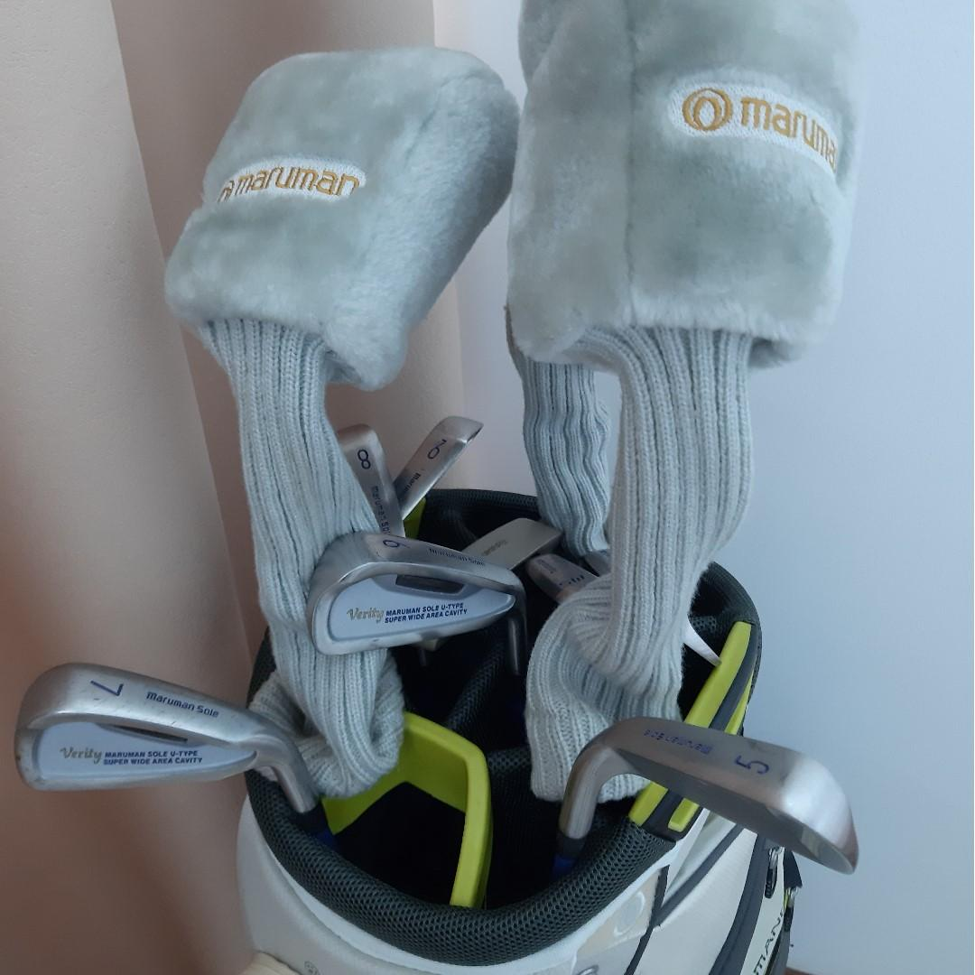 Full Golf Set. Free golf balls. Used few times, good condition