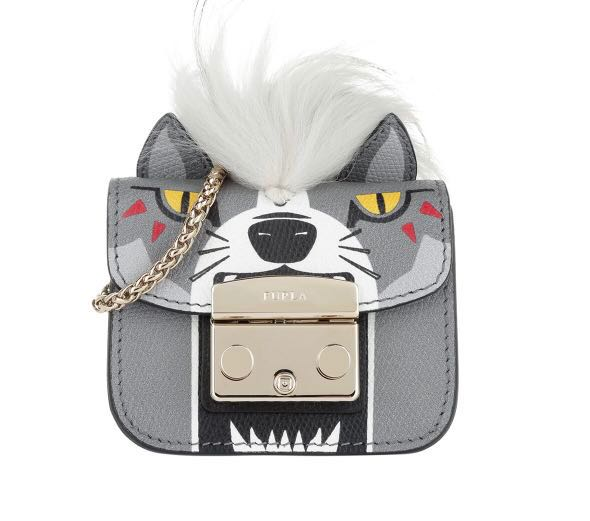 6ae964ad9d Furla Metropolis Jungle grey mini bag