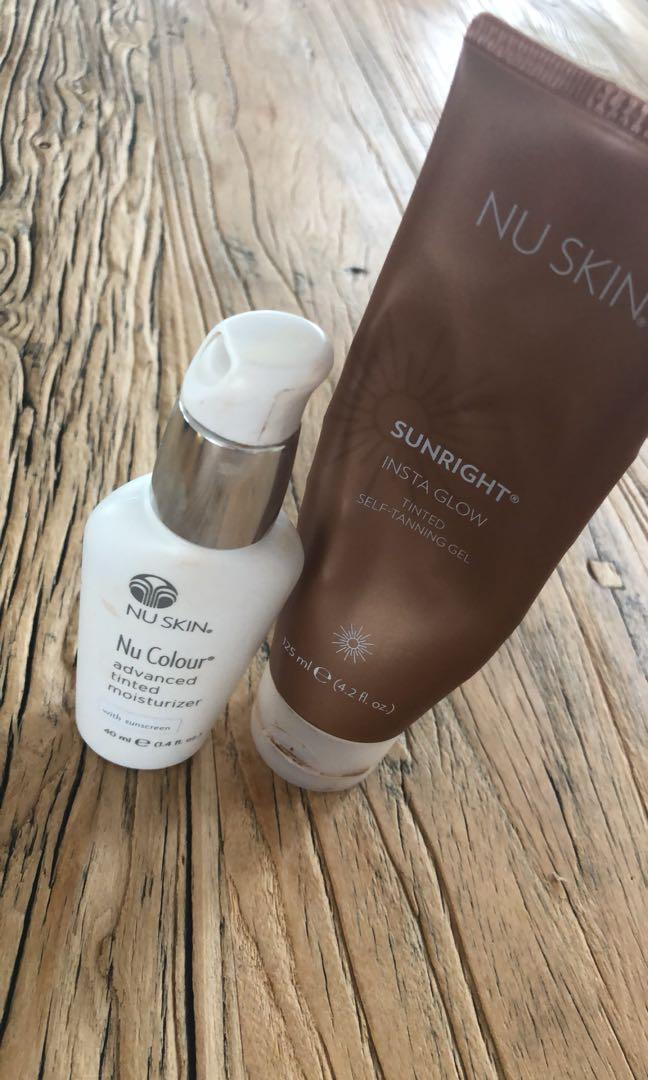 Gradual tanner & tinted moisturiser (can be purchased seperate)