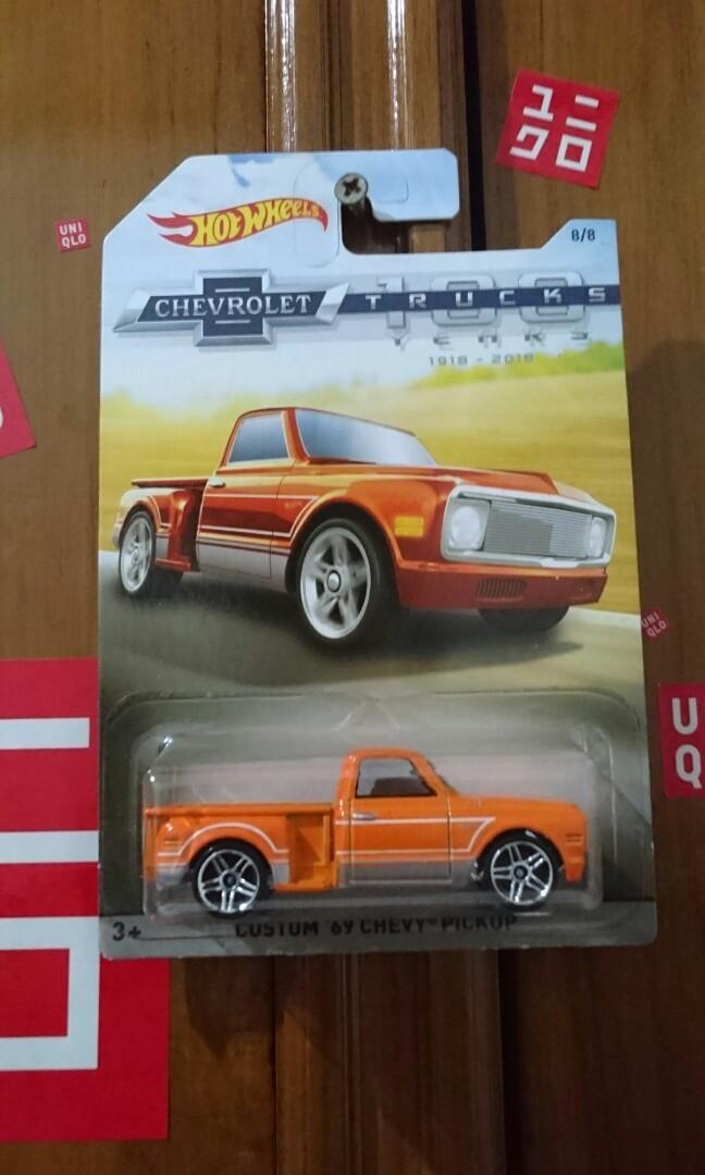 Hotwheels edisi chevrolet 100years trucks