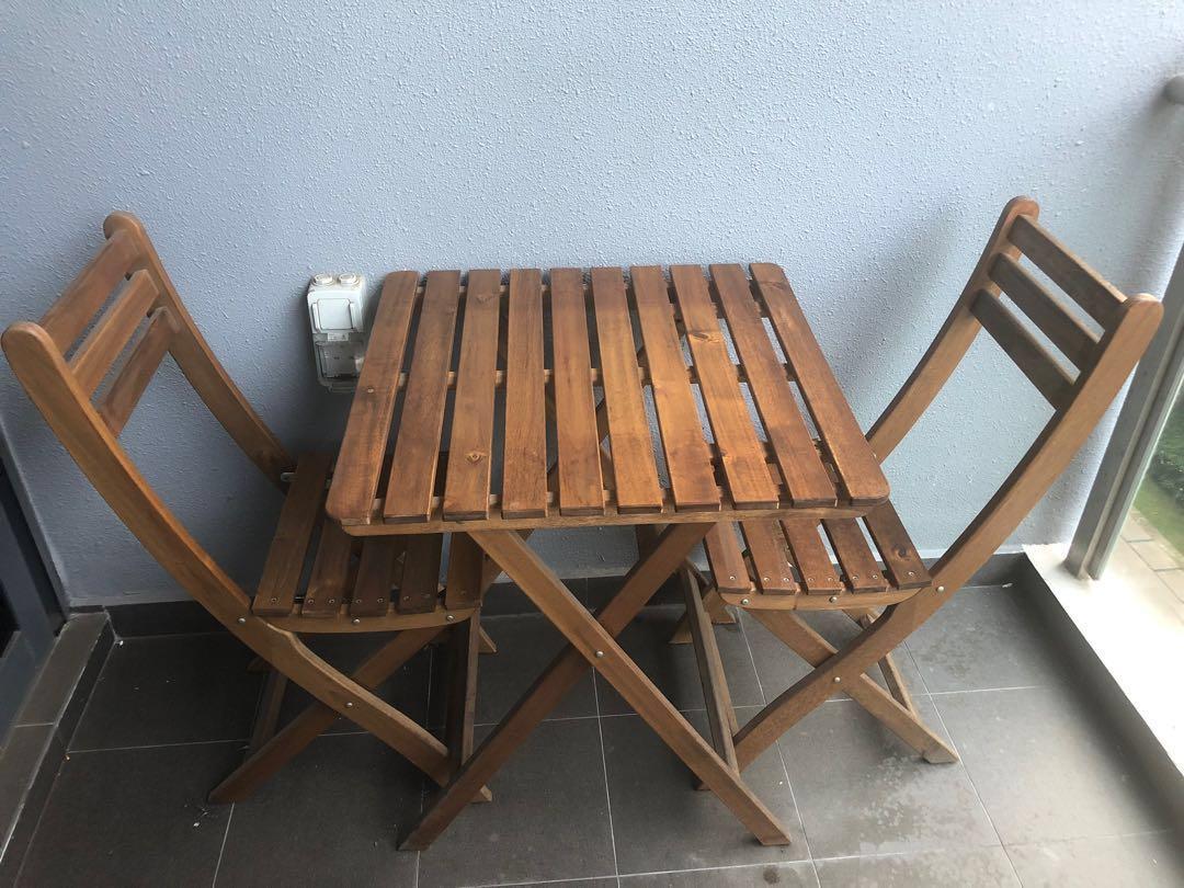 71f0aad83 Ikea Askholmen Outdoor Table   2 Chairs