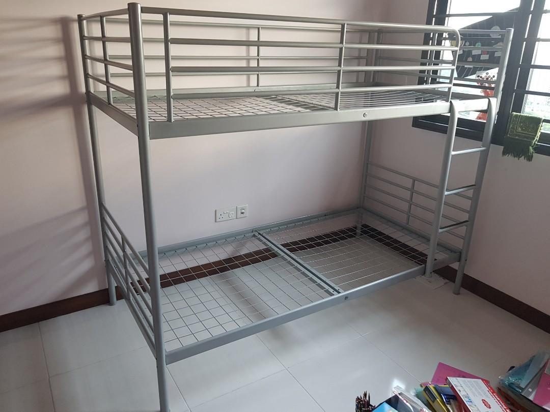 Ikea Svarta Bunk Bed Furniture Beds Mattresses On Carousell