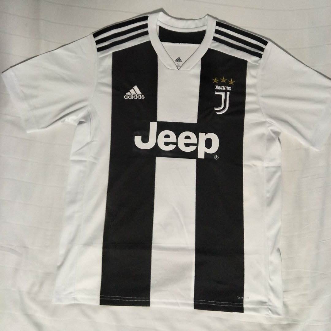 Instock Juventus Home Kit 18 19 Sports Sports Apparel On Carousell a55501bd7