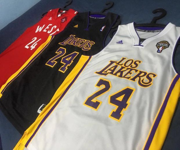f11acf29c15 Kobe Bryant NBA Jersey Set of 3 , Sports, Sports Apparel on Carousell