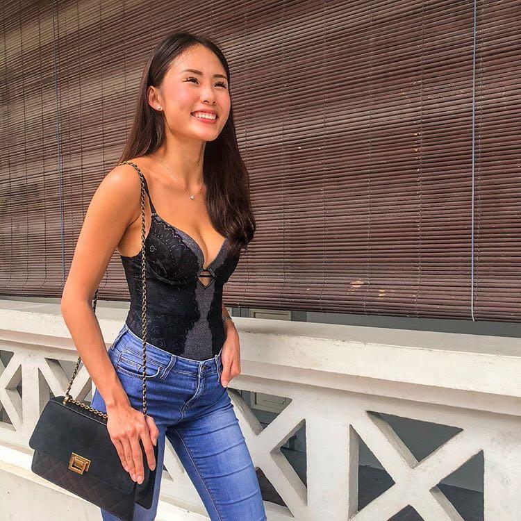 women online sale available LaSenza Push Up Lace Bodysuit, Women's Fashion, Clothes ...