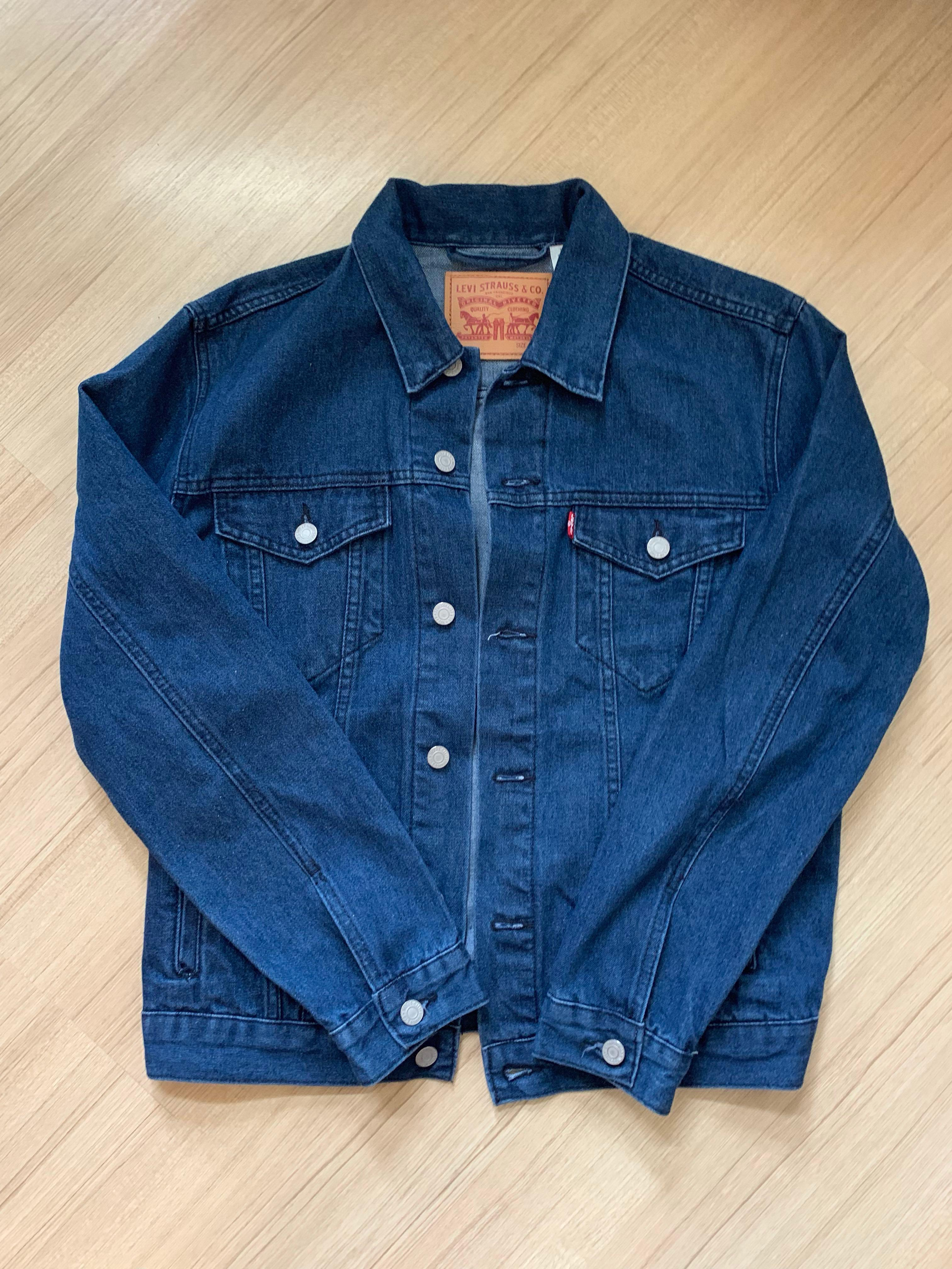 Levi's Blue Denim Jacket Size M