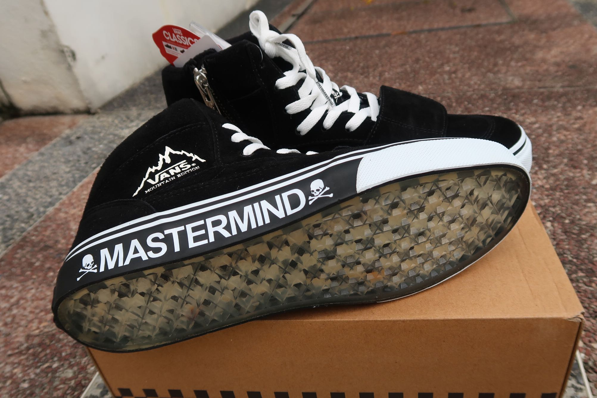 bc438a905 Limited Edition  Mastermind x Vans Mountain Edition