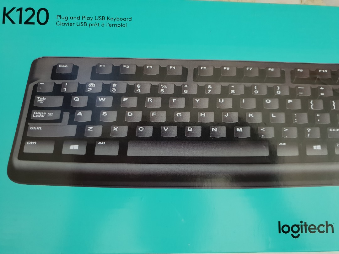 3542c8861c5 SALE!] Logitech Keyboard K120, Electronics, Computer Parts ...