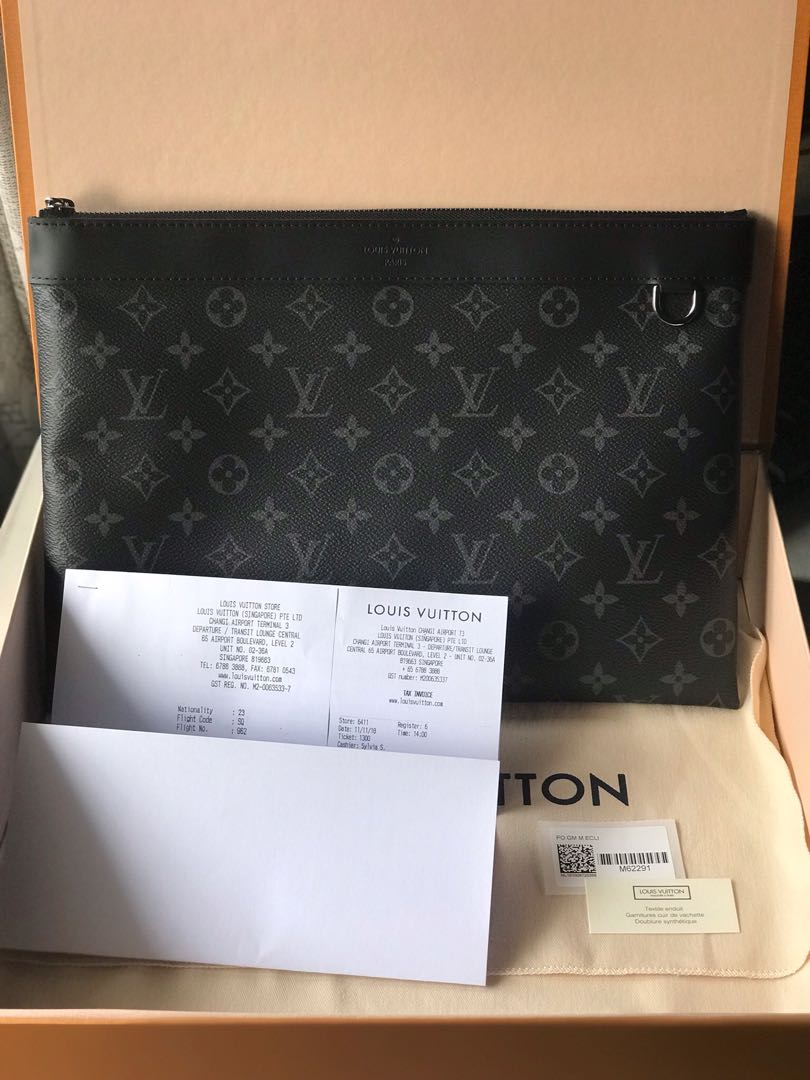 c4a271cd5358 Louis Vuitton LV Apollo Discovery Clutch