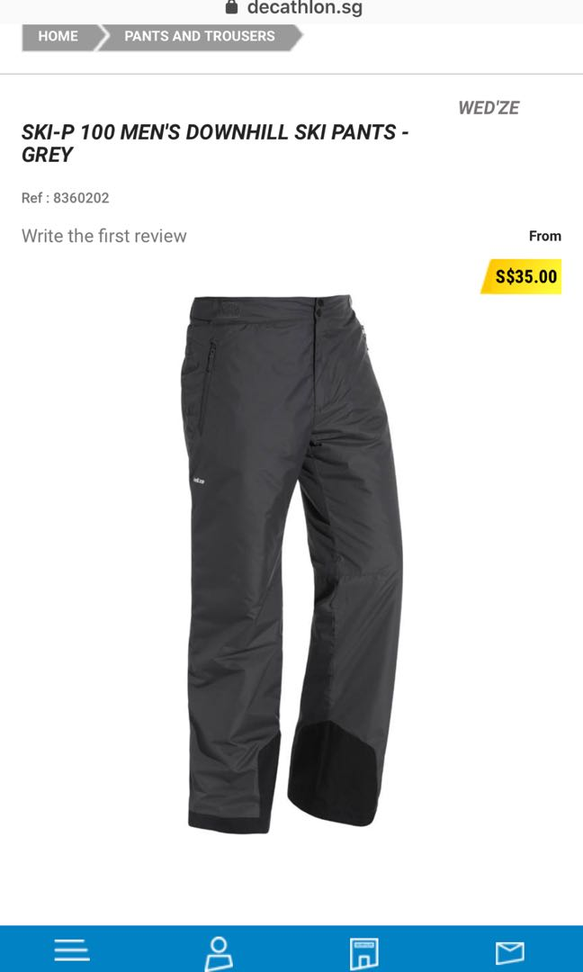 Man s Ski 🎿 Pants 7eb68f326