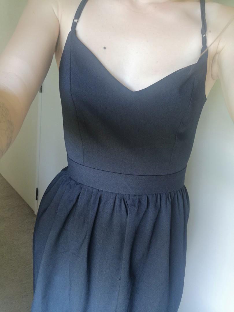 Navy Ball dress Size 8