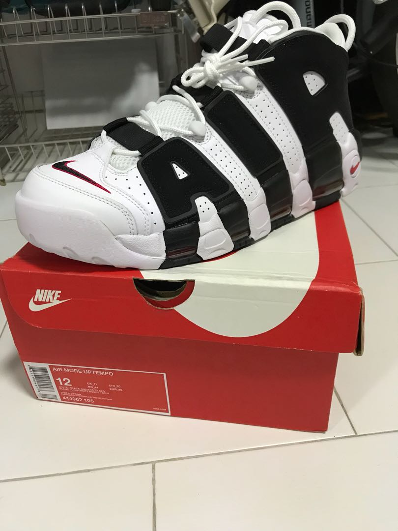 2e5632a9f5c Nike air more uptempo, Men's Fashion, Footwear, Sneakers on Carousell