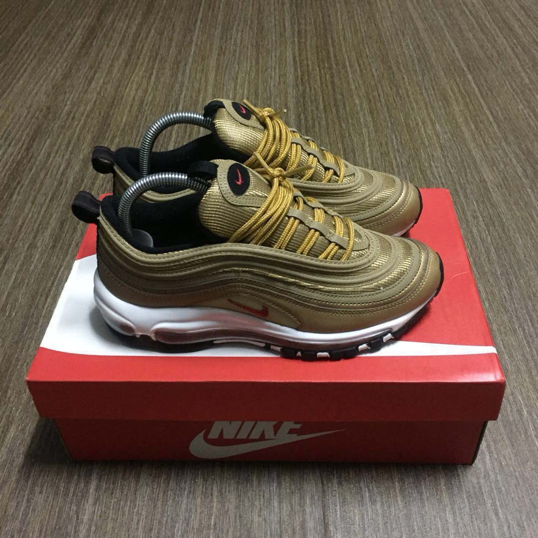 16eefd71bb Nike Airmax 97 Metallic Gold , Men's Fashion, Footwear, Sneakers on ...