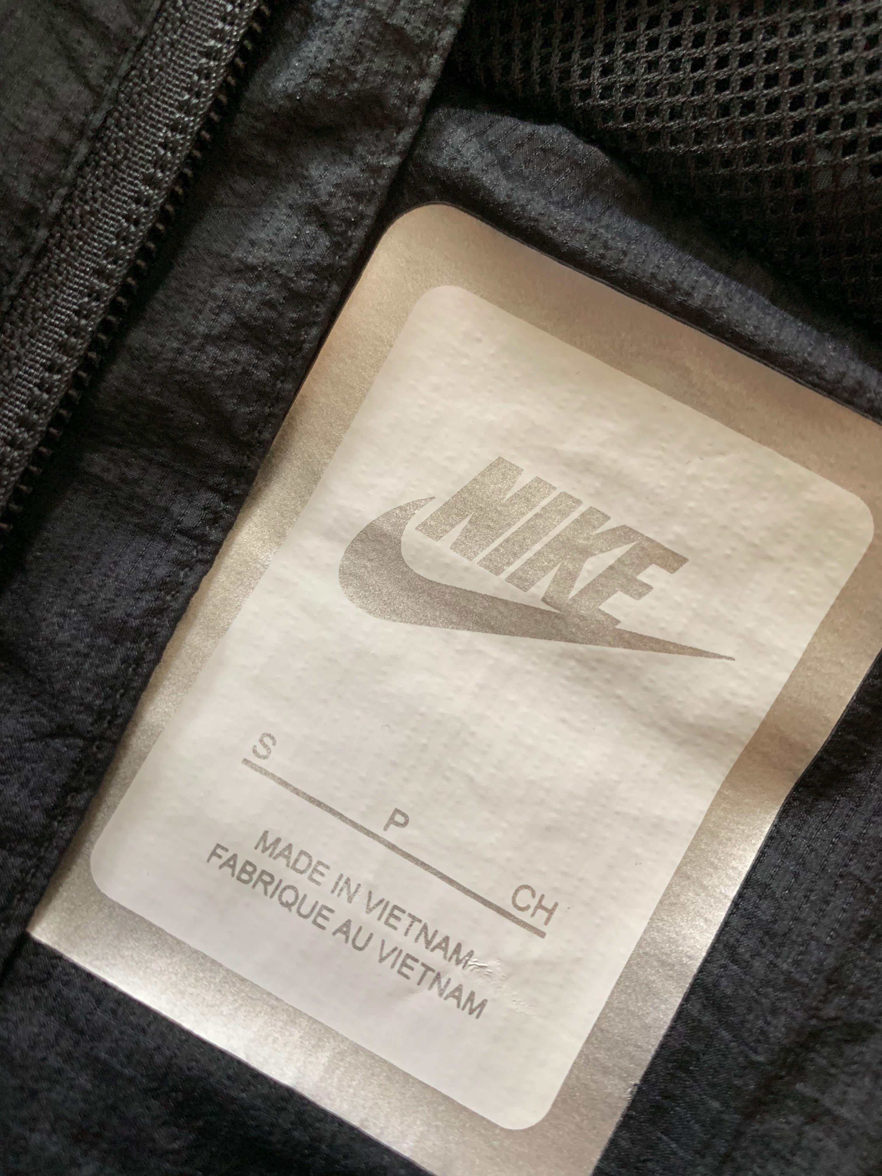 Nike all black Wind breaker Size M